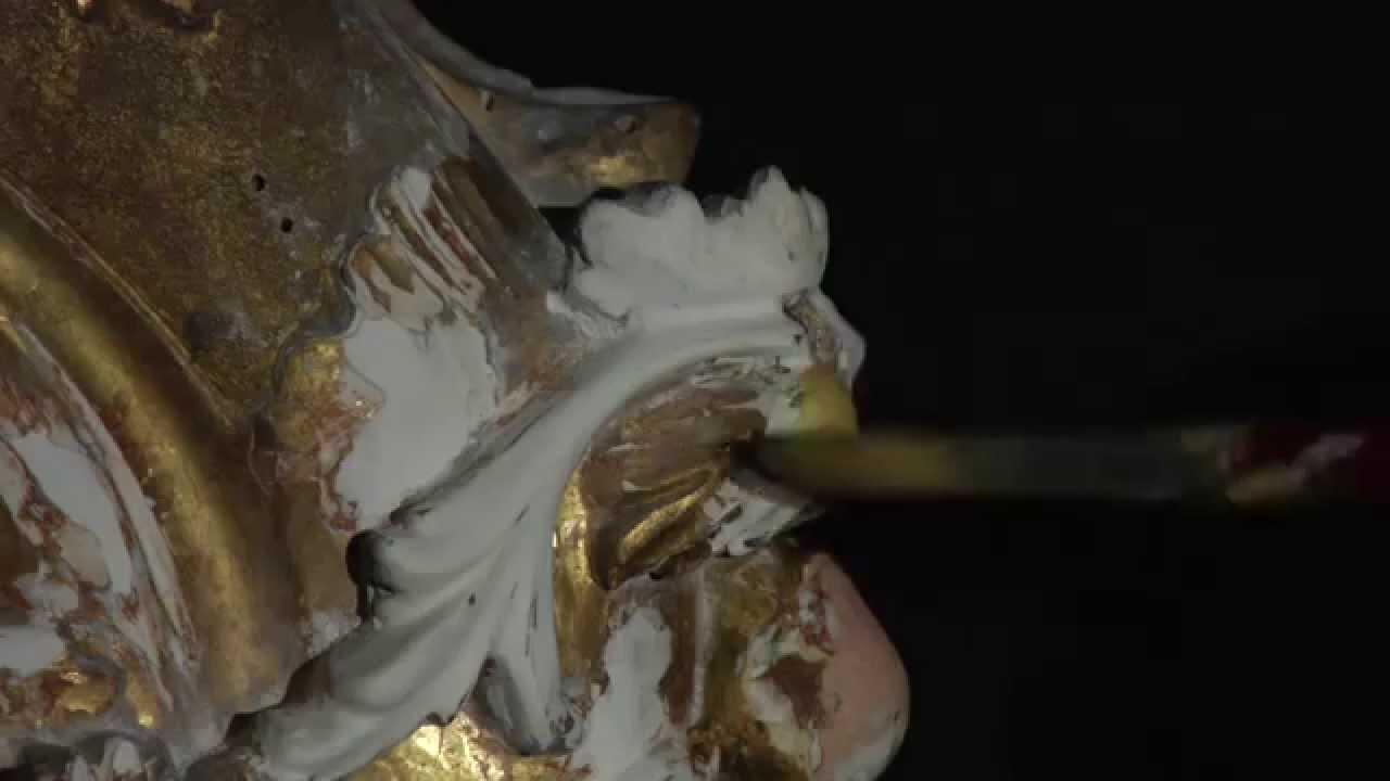 Поталь трансферная 14х14 см Manetti №2 25 л, имитация золота видео