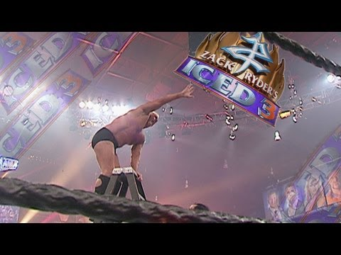 Zack Ryder's Iced 3 - August 2013,  WrestleMania 22 - Money In The Bank Ladder Match - FULL MATCH