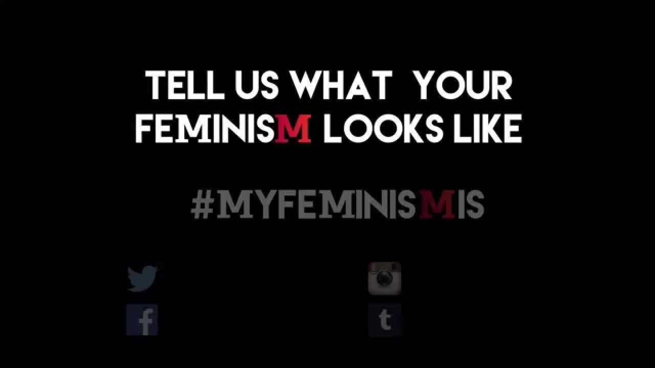 This Is Feminism.