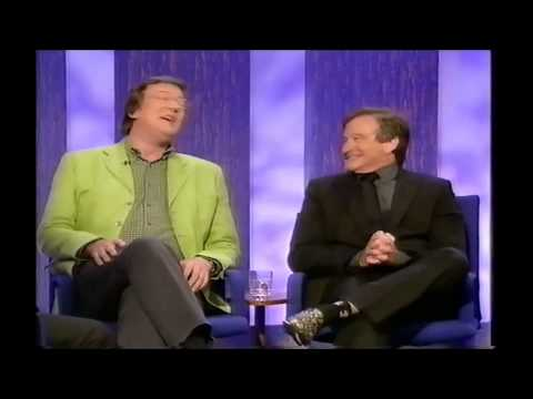 Television Archive: Parkinson Stephen Fry and Robin Williams 2002