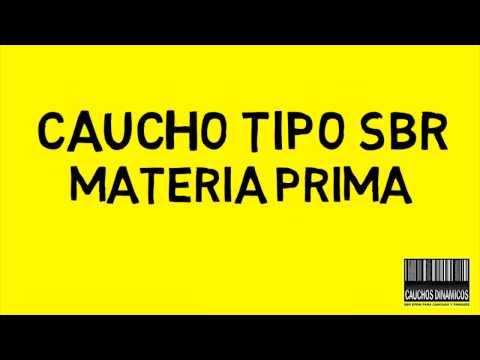 CAUCHO TIPO SBR