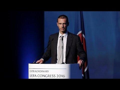 UEFA: Ο Σλοβένος Αλεξάντερ Τσεφερίν νέος πρόεδρος