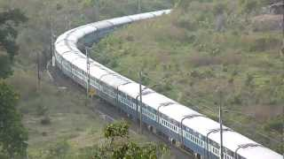 Nonton Breathtaking view of Andhra Pradesh Express speeding with a WAP-7! Film Subtitle Indonesia Streaming Movie Download