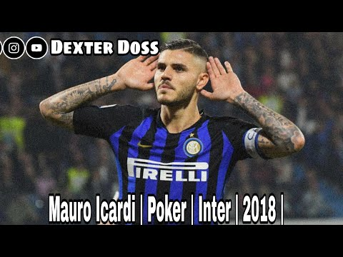 Mauro Icardi | Poker | Inter | 2018 |