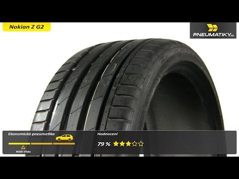 Youtube Nokian Z G2 235/35 ZR19 91 Y XL Letní