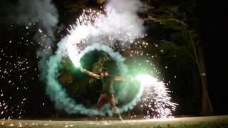 Pyroeffekt Feuershow