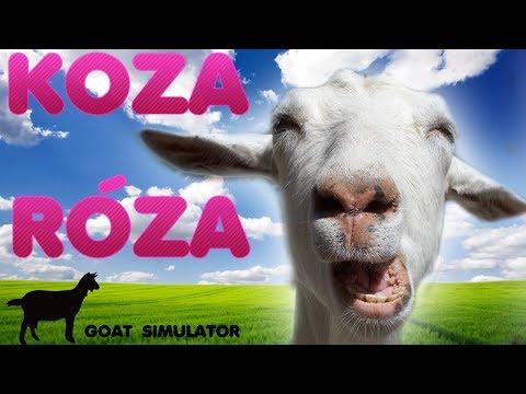 KOZA RÓZA - aneb Goat Simulator s Vyžírkou
