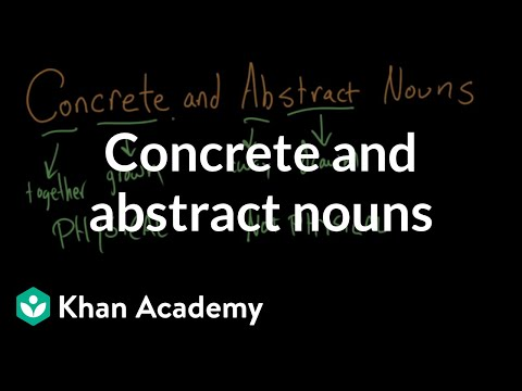 concrete terms meaning