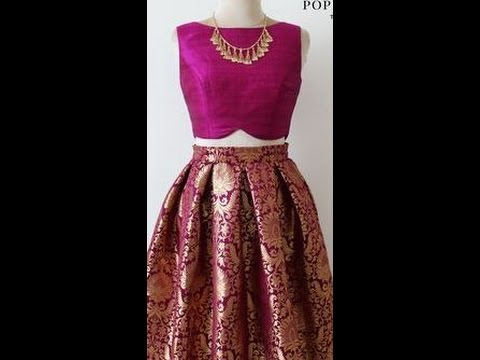 Video HOW TO MAKE BROCADE BOX PLEATED SKIRT/LEHNGA/GHAGARA DRAFTING CUTTING AND STITCHING STEP BY STEP download in MP3, 3GP, MP4, WEBM, AVI, FLV January 2017