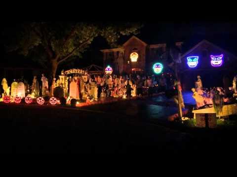 """Halloween: un juego de luces te """"canta"""" Thriller"""
