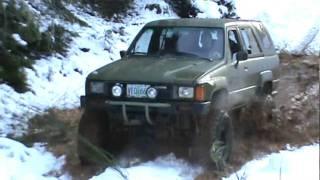 roddown crew 4x4 in snow