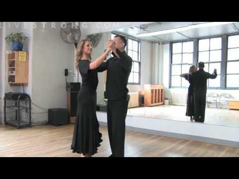 Бальные танцы - урок - положение тела, азы