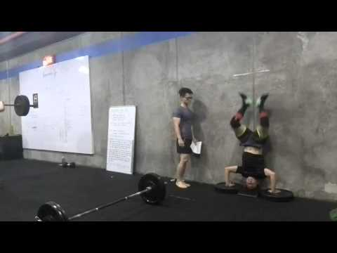 Jeff Lopez CrossFit Games Open Workout 15.4 (RX Teens)