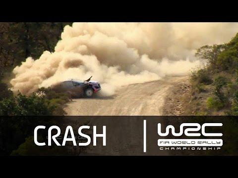 Vídeo así fue la salida de pista de Thierry Neuville en el WRC Rallye México 2015