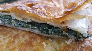 Pite me hithra/hitha --- Nettle's Pie (Traditional Albanian cuisine)