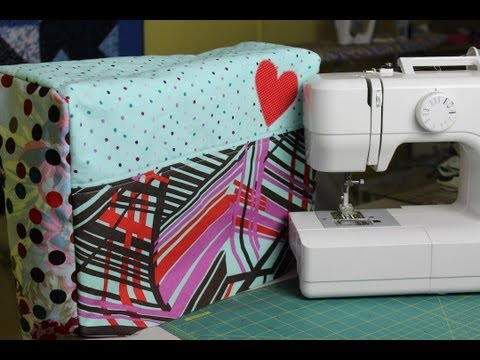 Sewing Machine - Learn how to custom make your own sewing machine cover! In this video I teach you how to take the measurements needed and translate them onto fabric to creat...