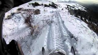 7. First Mountain Ride with 2015 skidoo renegade 600 carb