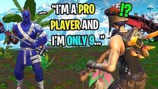I met a FAKE Ghost pro player...but he might actually be better? (HE'S ONLY 9)