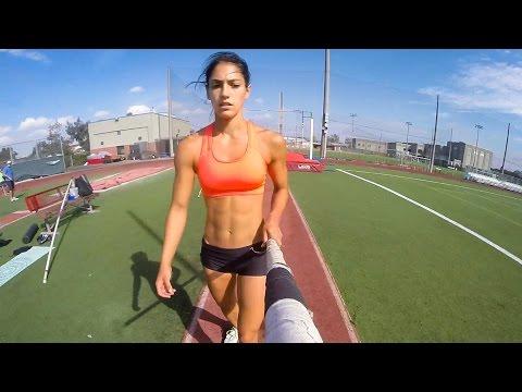 【GoPro】棒高跳び選手の視点
