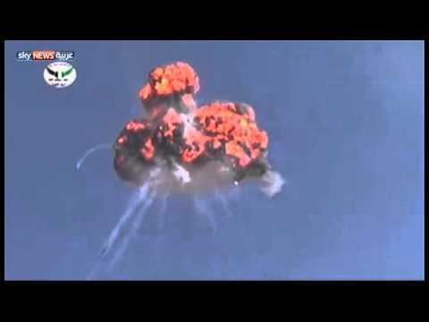 الجيش الحر يسقط مروحية في ريف إدلب