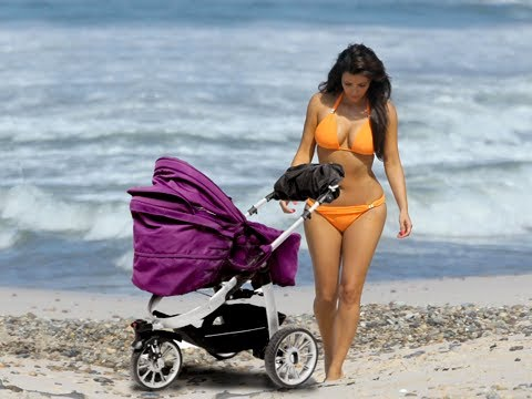 Kim Kardashian's Baby North West Out In Public