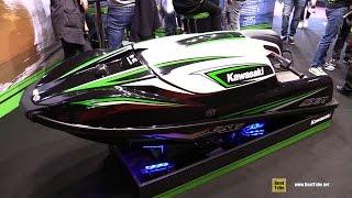 9. 2017 Kawasaki SX R Jet Ski - Walkaround - 2016 Salon Nautique Paris