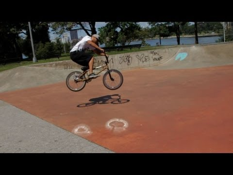how to do a bunny hop - See what you can learn on the go with the new Howcast App for iPhone and iPad: http://bit.ly/11ZmFOu Watch more How to Do BMX Bike Tricks videos: http://www....