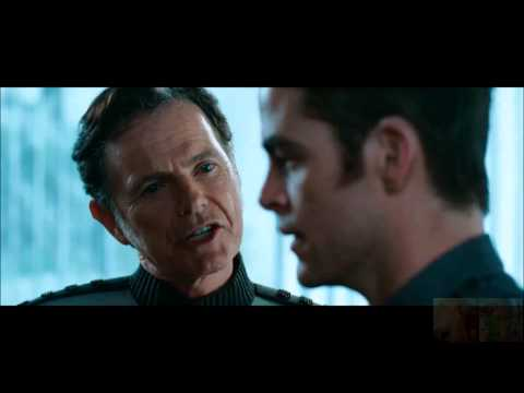 Star Trek Into Darkness - Admiral Pike Chews Out Kirk and Spock
