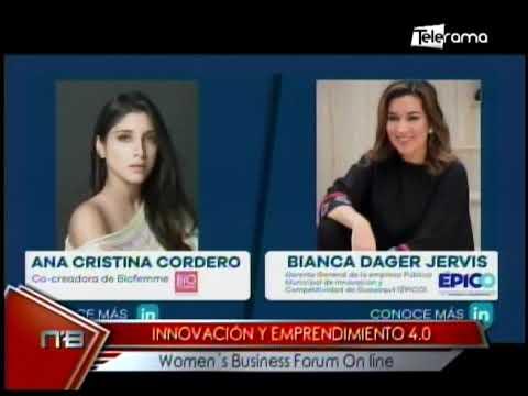 Innovación y emprendimiento 4.0 Women's Business Forum On Line