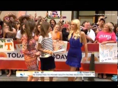 """Paris Hilton """"The Today Show"""" Part 1"""