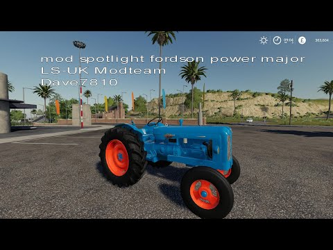 Fordson Major v1.1.0.0