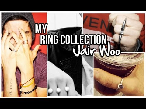 MY RING COLLECTION (REQUEST!) • MEN'S FASHION | JAIRWOO