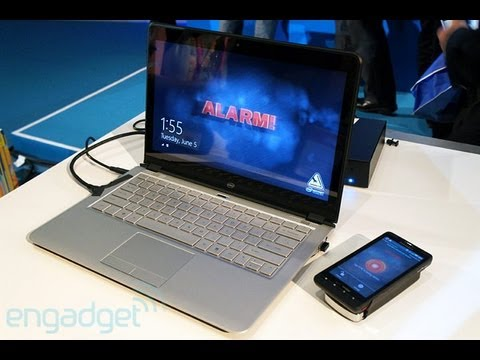 Intel Laptop Bluetooth Alarm System - Engadget Hands On Review