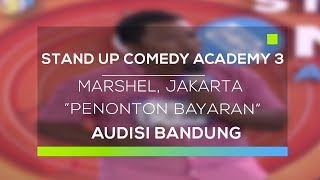 Video Stand Up Comedy Academy 3 : Marshel, Jakarta - Penonton Bayaran MP3, 3GP, MP4, WEBM, AVI, FLV September 2017