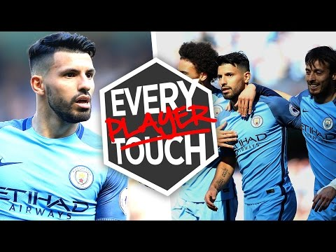 Video: EVERY PLAYER, EVERY TOUCH! | Aguero Goal vs Hull City