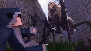 "Minecraft MAZE RUNNER - ""GRIEVERS!!"" (Minecraft Maze Runner Roleplay Ep 3)"