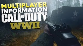 Call of Duty WW2 Multiplayer Gameplay information was revealed during the press briefing today. Quite a lot of it actually. There were also some unintentiona...