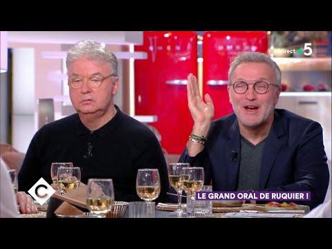 Au dîner avec Laurent Ruquier, Dominique Besnehard et Betrand Périer - C à Vous - 18/02/2019