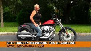 9. 2013 Harley-Davidson FLS Softail Blackline - DEALER