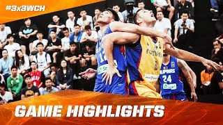We recap the highlights of the Philippines' come back against Romania on day 2 of the 2016 FIBA 3x3 World Championships in Guangzhou (CHN). Subscribe to ...