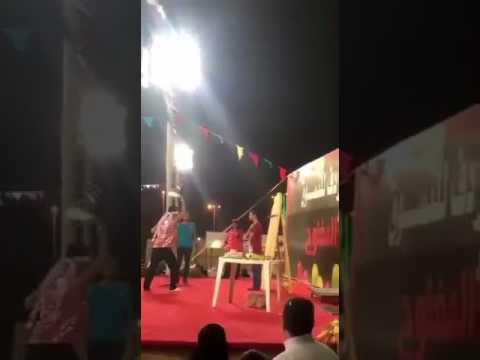 #فيديو : #شاهد استعراض في أحد المهرجانات ينتهي بكارثة وسط استياء الحاضرين #السعودية