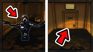 WHAT HAPPENS IF YOU RUN AWAY FROM SEARCHERS? | Bendy and the Ink Machine