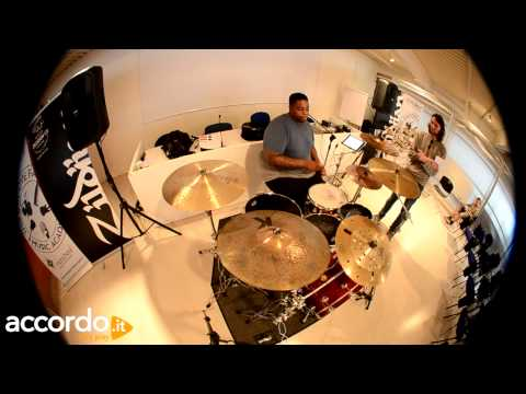 "Aaron Spears ""Fill & Groove"" (Drum Lesson)"