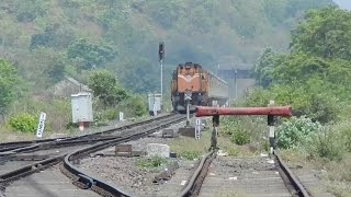 Chiplun India  city photo : DERAILMENT !! I Don't Care !!! Ernakulam - Mumbai Duronto Destroys Chiplun : KONKAN RAILWAY