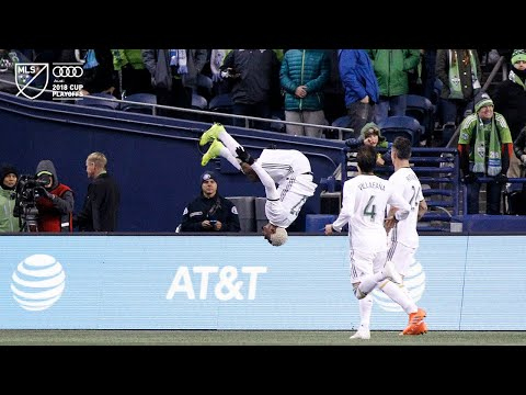 Video: SLO-MO | Dairon Asprilla header and he backflips the celebration