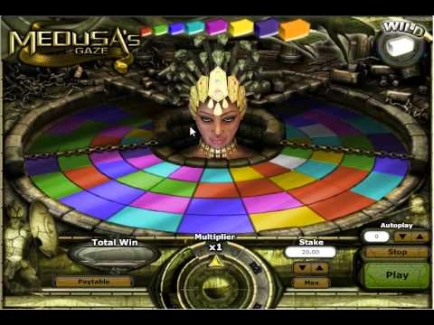 'Medusa's Gaze' Online Slot Review From 888games
