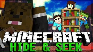 Hide and Seek Minecraft Block Hunt w/ Taz, AciDicBliTzz, and Jeff!