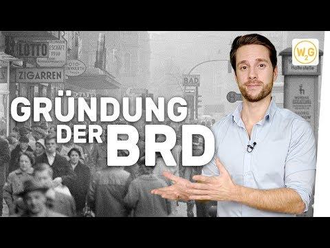 Gründung der Bundesrepublik und Wirtschaftswunder