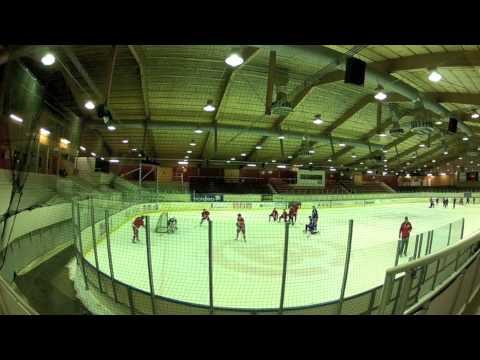 Hockeyspelare smakar sarg
