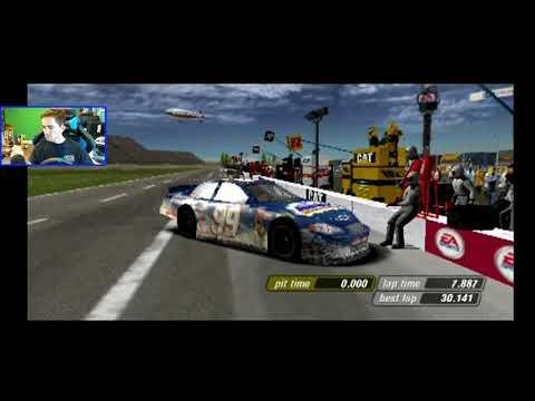 Fast Car, Bad Handling! (Chicagoland) | NASCAR Thunder 2004 [PS2] Career Mode [Season 3] Race 18/36